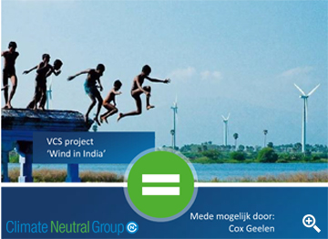 Climate neutral - Wind in India