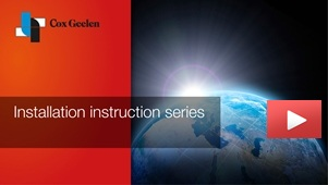 Cox Geelen installation instructions ECONEXT Chimney cover