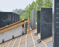 Prefab heat pump cover