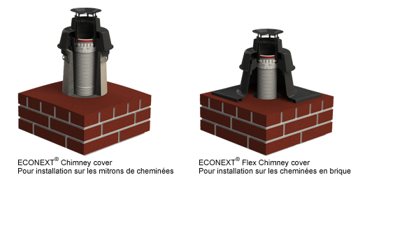 ECONEXT Chimney cover